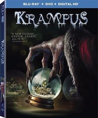 Krampus (Blu-ray + DVD + Digital HD), Brand new, Factory sealed. Free shipping.
