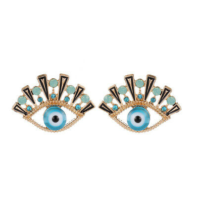 5c0282b23 1 Pair Zinc alloy Classic Blue Evil Eyes Stud Earrings For Women Fashion  Jewelry