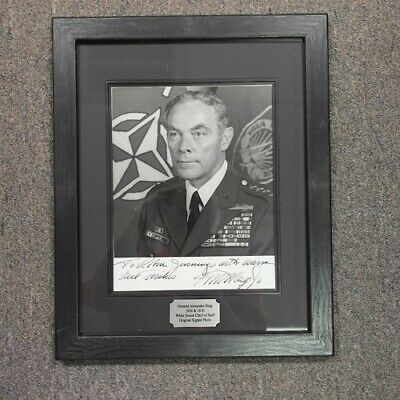 General Alexander Haig Autograph Photo - Framed
