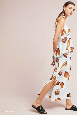4b27d33a3dc2 NWT SOLD OUT $198 Anthropologie Silk Pamela Dress Size 2 XS Small ...