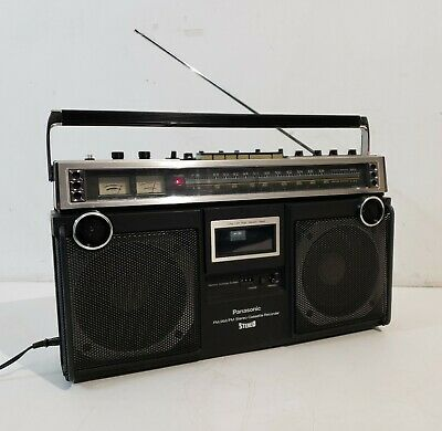 Panasonic RQ-4350 Cassette Vintage Boombox supper clean!!! working!!! Read add.