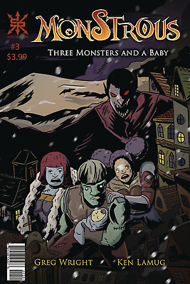 Monstrous #3 Comic Book 2019 - Source Point Press