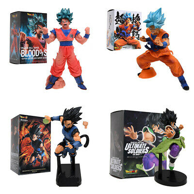 Dependable 13cm Pvc Figurines Ball Z Dragon Action Figures Son Goku Super Saiyan Vegeta Ball Z Dragon Dragonball Z Figures Dbz Toys 100% High Quality Materials Toys & Hobbies