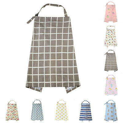 Breastfeeding Cover Cotton Top Canopy Scarf Blanket Covers Infant Baby Latest