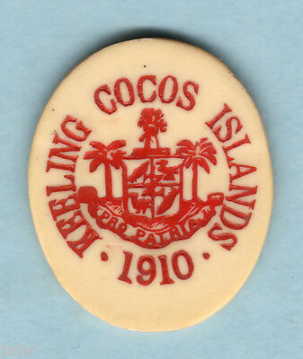 Cocos Keeling Islands. 1913 5 Cents..   gEF  -  RARE This Grade