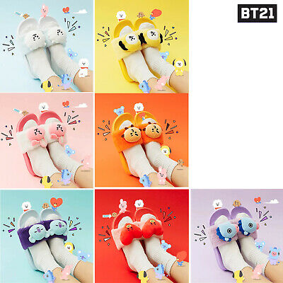 BTS BT21 Plush Doll Slipper Indoor Shoes Slippers Official Authentic Goods 230mm