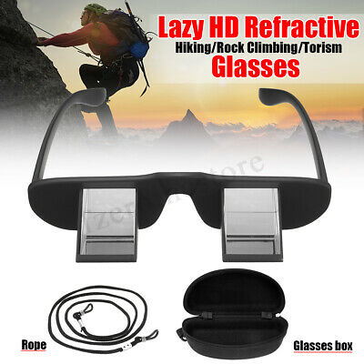 HD Refractive Goggles Belay Glasses Prism Spectacles Climbing Watching+Box+Rope