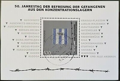 Germany 1995 Sc # 1896 Used NH End of WWII Souvenir Mini Sheet Stamps