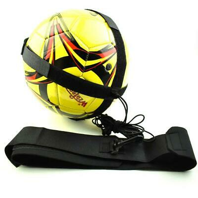 Soccer Football Kick Throw Trainer Solo Practice Training Aid Control Skills LC