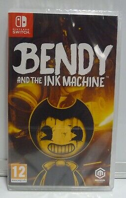 Bendy And The Ink Machine Nintendo Switch - New Sealed Region Free