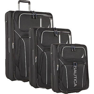 f03c38d62 NAUTICA ASHORE LUGGAGE 4 Piece Set, Red - $319.99 | PicClick