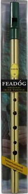 Feadog Brass D WHISTLE PACK! Irish Penny Tinwhistle for Celtic Trad Folk!