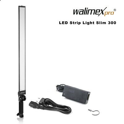Walimex pro LED Strip Light Slim 300 Daylight 30W 5.600 K 90 Ra 3300 Lumen