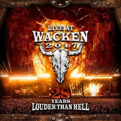 Live At Wacken 2017 - 28 Years Louder Than Hell, Various Artists, Audio CD, New,