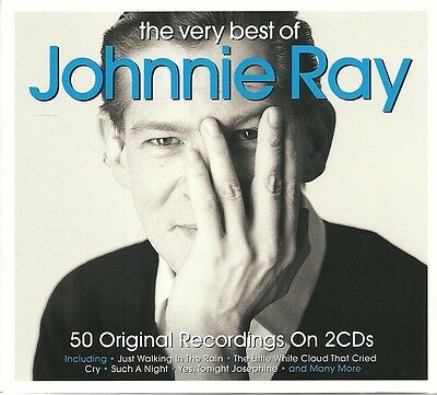The Very Best Of Johnnie Ray Cd - 2 Cd Box Set - Just Walking In The Rain & More