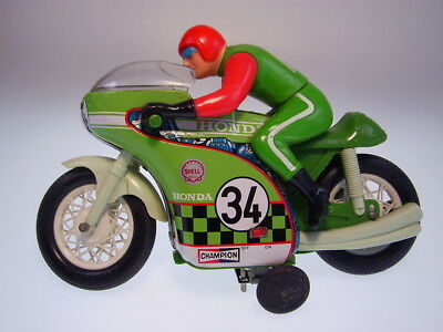"GSMOTO  TPS ""HIGHTECHNICAL RIDER MOTORCYCLE""  Blech/Plastik, 26cm, VERY GOOD !"