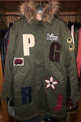07413b7a608 Pretty Green Lonely hearts club parka Liam Gallagher Oasis Fake london style