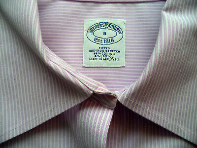eab7a2f7aae75 Womens BROOKS BROTHERS button Shirt sz 8 blouse top dress office career NWOT
