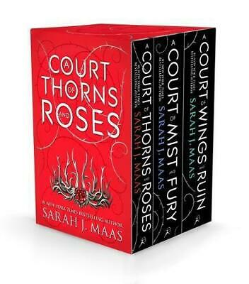 A Court of Thorns and Roses Box Set by Maas, Sarah J., Paperback Book, New, FREE