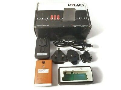 Mylaps MX Flex Rechargeable Power Transponder with charger AMB Orange Classic