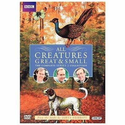 All Creatures Great and Small - Series Two Set (DVD, 2010, 4-Disc) VG-1913-1