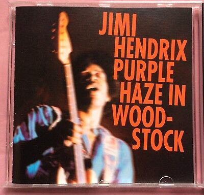 JIMI HENDRIX WOODSTOCK Live Cd  différents  Timing