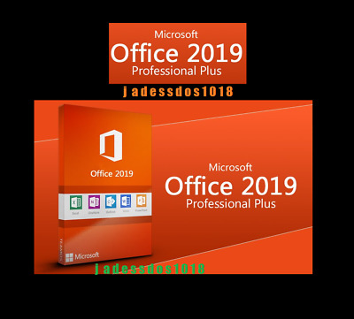 Microsoft Office 2019 Professional Plus Genuine Lifetime License MS office 2019