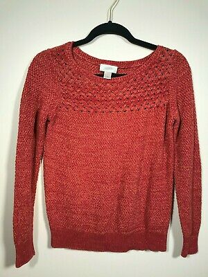 ef0c6a7c0afea2 NWT THE LOFT Burnt Orange Size Extra Small Sweater - $20.50 | PicClick