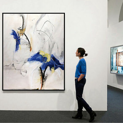 Large Abstract Art Hand-Painting Oil Painting Modern Home Decor Wall On Canvas