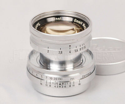 @Rare@ Leitz Summicron 50mm f2 LTM Leica Screw Mount Radioactive CLA'd #015053