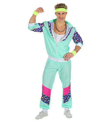 Carnival Costume Man Suit 80s Shell Suit PS 05037