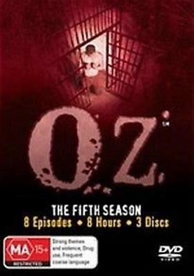 OZ: The Complete Fifth Season: 3DVD NEW