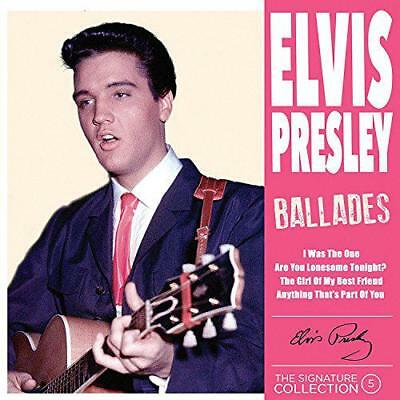 [The Signature Collection Vol. 5] Ballades, Elvis Presley, New,  Audio CD, FREE