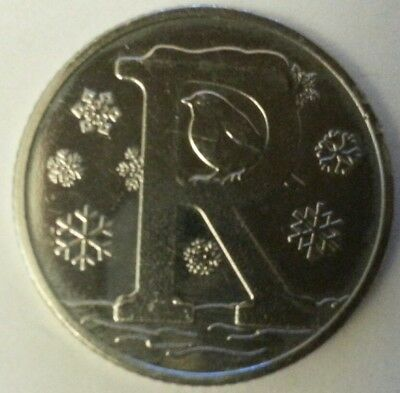 NEW A-Z 2018 ALPHABET 10p COIN HUNT- LETTER R - ROBIN  UNCIRCULATED