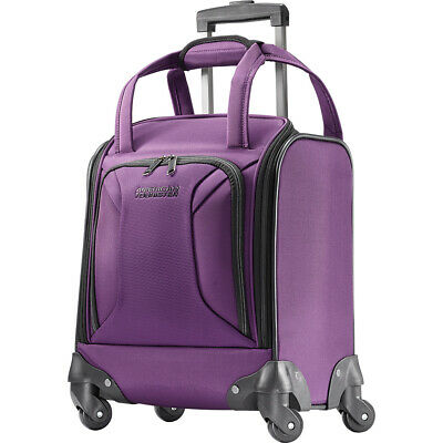 """American Tourister Zoom 15"""" Carry-On Underseat Spinner Softside Carry-On NEW"""