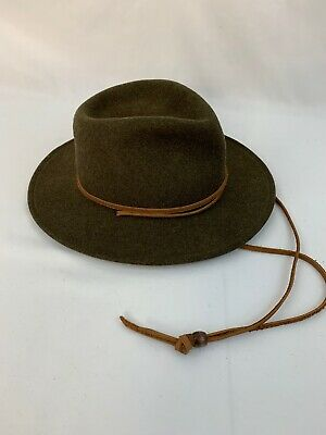 Bailey Lite Felt Packable Hat Medium Wool Felt Brown Water Repellent 68d6766bd9d9
