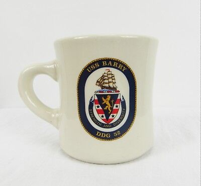 USS Barry DDG-52 Heavy Diner Ware 8 oz. Coffee Cup Mug US Navy