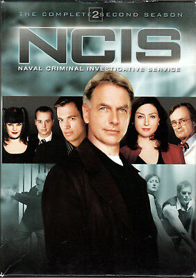 NCIS The COMPLETE SECOND SEASON 2 Series DVD of CRIME INVESTIGATION Navy TV SHOW