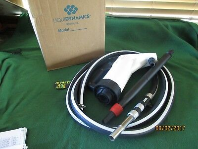 New Liquidynamics Lever Action Hand Operated Drum Pump 560008V-12  3/4 Hose 12Ft