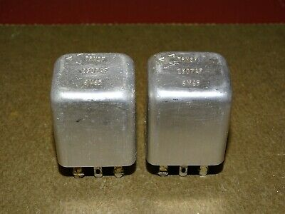 Pair, Western Electric 2507AF TRNSF Transformers, for Tube Audio, Good
