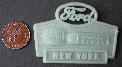 1964-65 World's Fair Ford Motor Cars Rotunda New York glow in the dark pin-COOL*