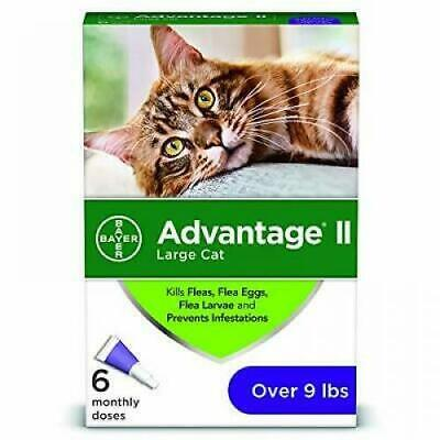 6 Month Advantage II for Large Cats Over 9 Lbs, EPA APPROVED NEW DESIGN