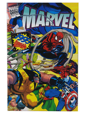 Marvel Comics 1995 Annual Report Shareholders Special Exclusive Wraparound Cover