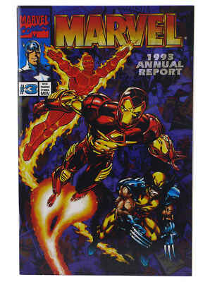 Marvel Comics 1993 Annual Report #3 Shareholders Special Exclusive
