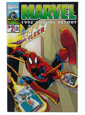 Marvel Comics 1992 Annual Report #2 Shareholders Special Exclusive