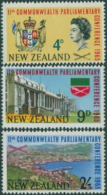 New Zealand 1965 SG835-837 Commonwealth Parliamentary Conference set MNH