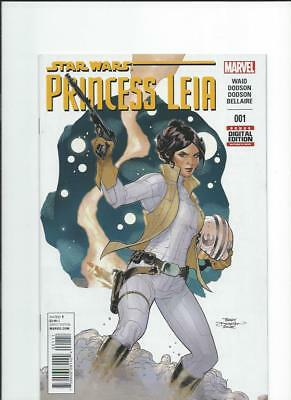 Marvel Comics Star Wars Princess Leia 1 NM-/M 2015