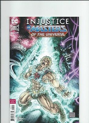 DC Comics Injustice vs Masters of The Universe 4 NM-/M 2018