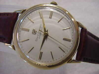 Vintage GOLD FD larg antique Art Deco GIRARD PERREGAUX GYROMATIC AUTOMATIC watch