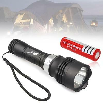 10000LM NEW XM-L T6 LED Diving Flashlight Torch Underwater Light Torch +18650 AE